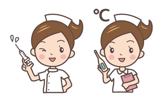 Nurse pose 2