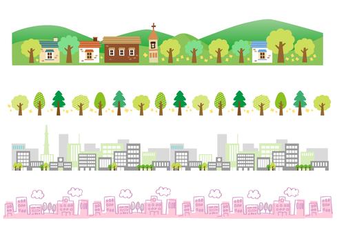 House Tree Building Line Summary