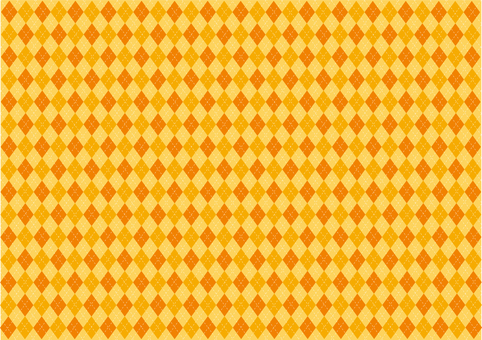 Wallpaper - Argyle - Orange