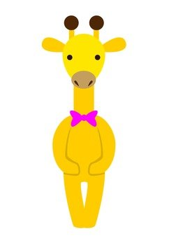 Giraffe (Yellow)
