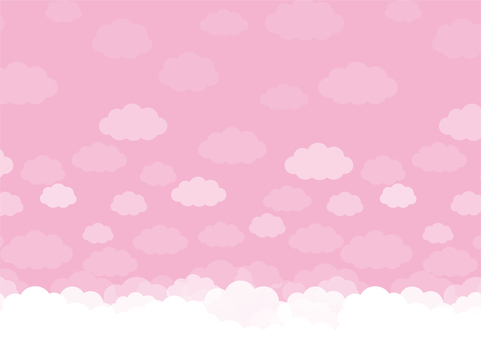 Clouds sky pattern seamless background