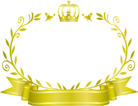 Crown and olive frame 5