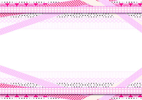 Cute ribbon background