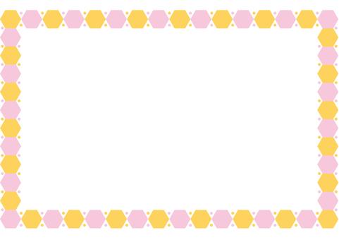 프레임 - 육각 원