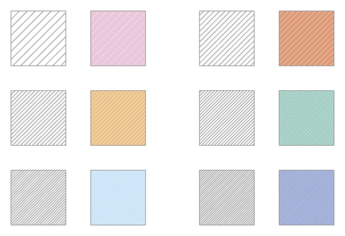 Swatch pattern series shaded