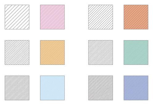 Renk Örneği desen serisi gölgeli