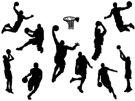 Basketball _ silhouette
