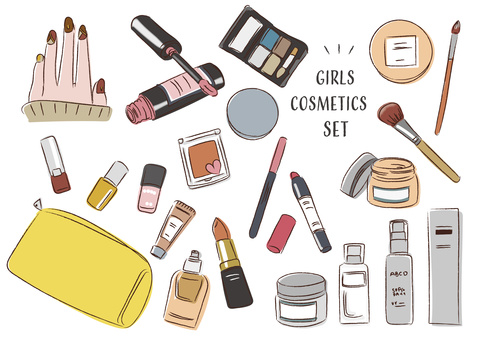 Cosmetics cosmetics girl makeup cute