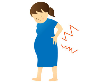 Back pain / pregnant woman