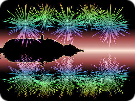 Enoshima fireworks 3