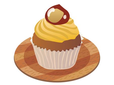 Cupcake _ Maron 01