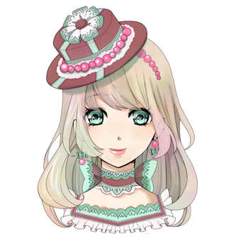 Girl icon A