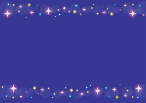 Sparkling frame 2