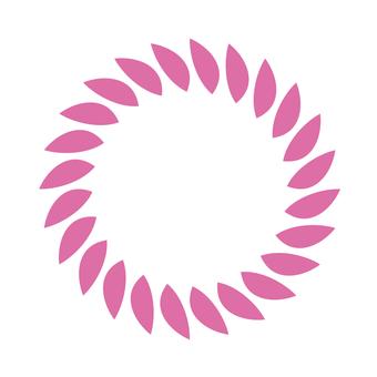 Circular material -184