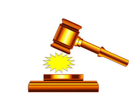 Auction Hammer Judge 3