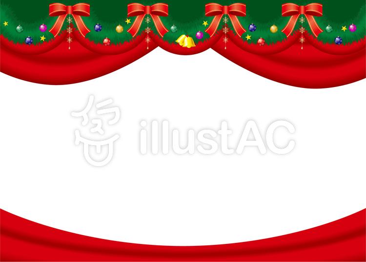 クリスマス枠イラスト No 99064無料イラストならイラストac