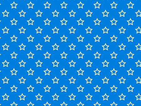 ai hollow star pattern with swatch Blue background