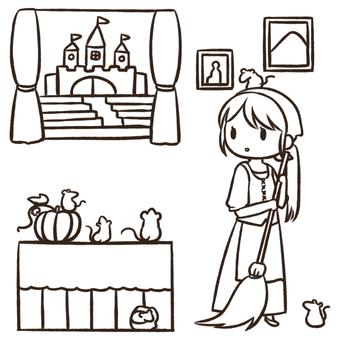 Cinderella drawing
