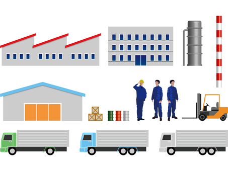 Factory Equipment Set 2