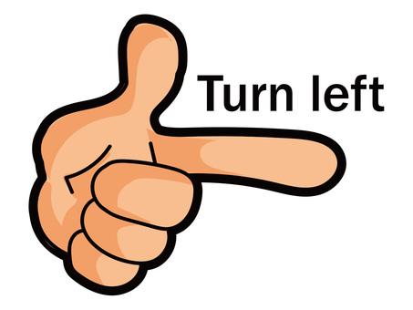 Hand 4 turn left