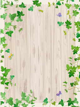 Ivy butterfly frame