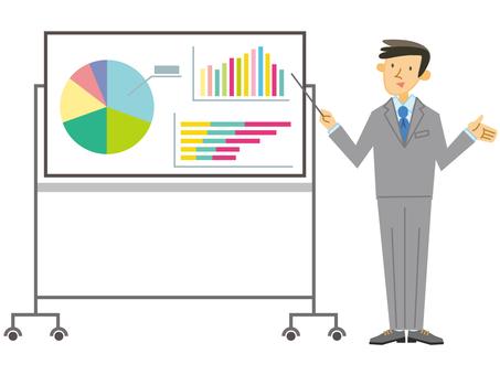 Presentation board _ male