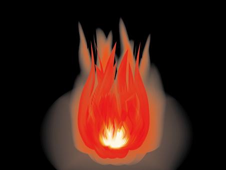 Flame (black)