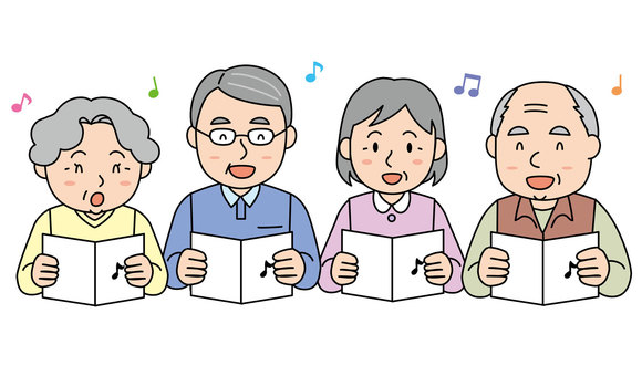 Singing Elderly 2