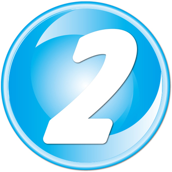 "Number button ""2"""