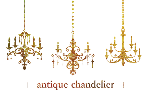 Antique chandelier 03
