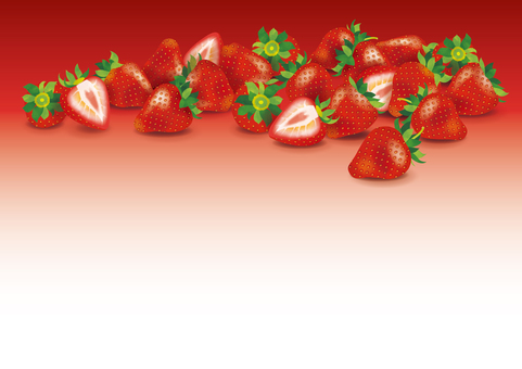 Lots of strawberries background