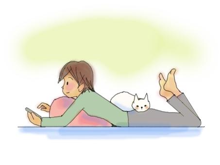 고양이 님과의 생활
