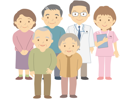 Middle-aged and elderly generation and medical personnel