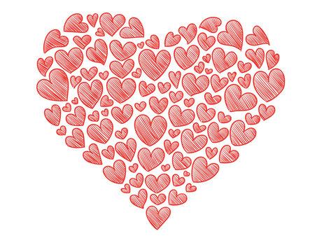 Handwritten heart