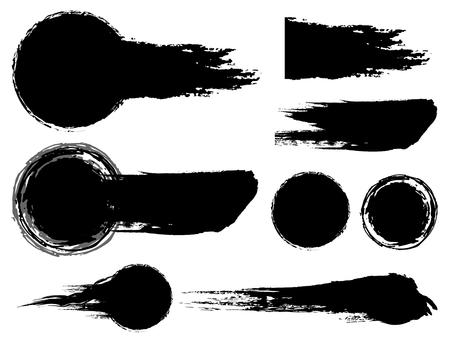 Ink brush material