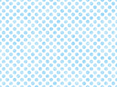 Polka dot background light blue