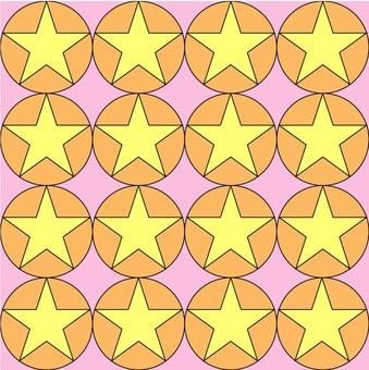 A round star