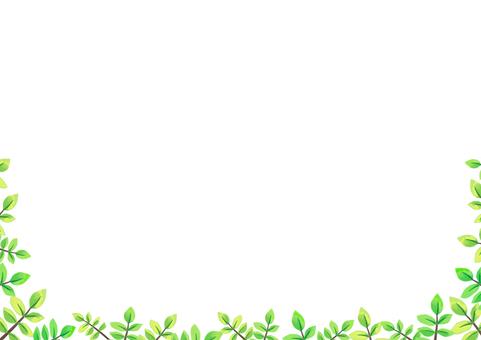 나뭇 가지 프레임