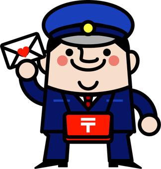 Uncle fairy postman