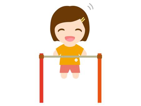 Iron bars and girls