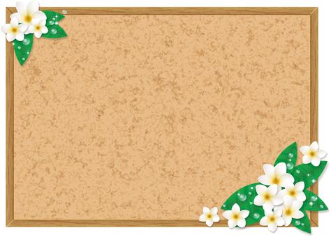 Plumeria's cork board