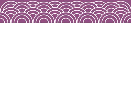 Japanese pattern swirl