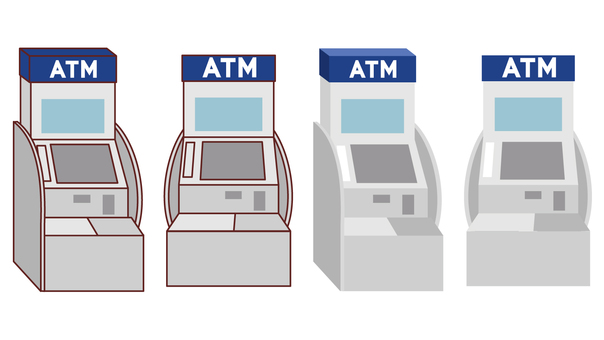 ATM Front oblique line Yes Line not available