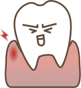 Unhealthy gums 1