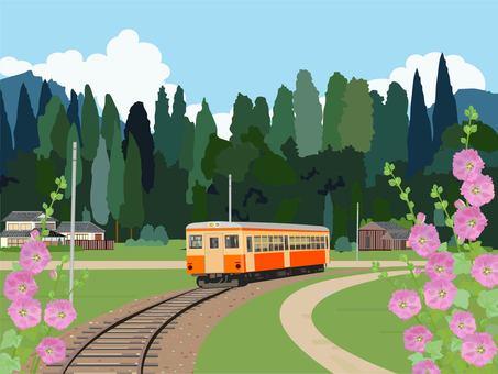 Train and tachibana