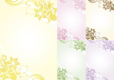 Background design / Flower pattern