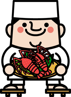 Uncle fairy Ise shrimp chef