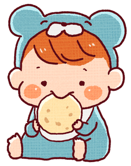 Baby who eats sweets (boy)