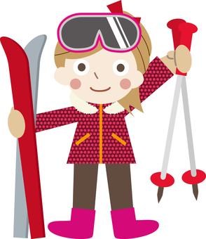 Winter Game 02 (Ski C_02)