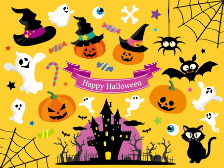 Halloween Illustration Collection (2)
